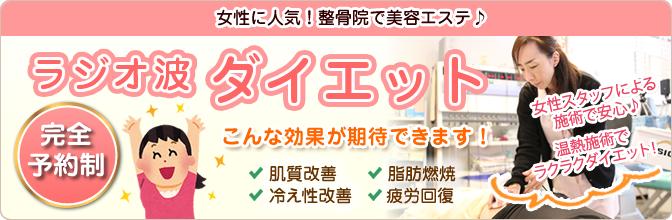 ラジオ波・ダイエット